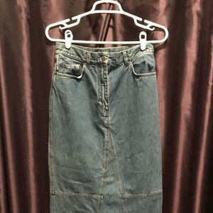 RL Denim Skirt